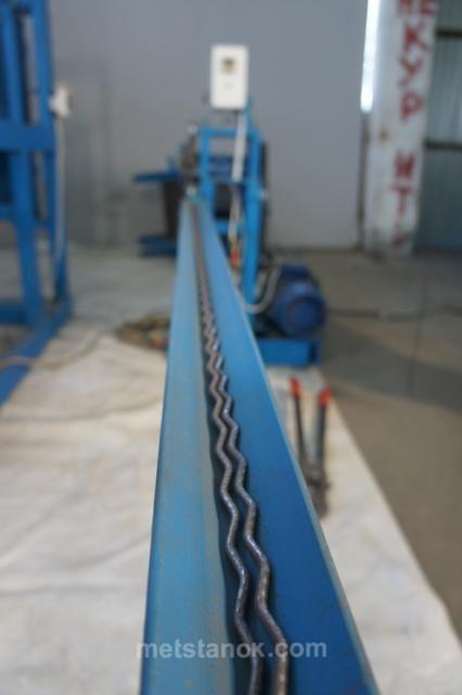 Комплекс для производства рифленых сеток КН2000 (для заборных панелей)