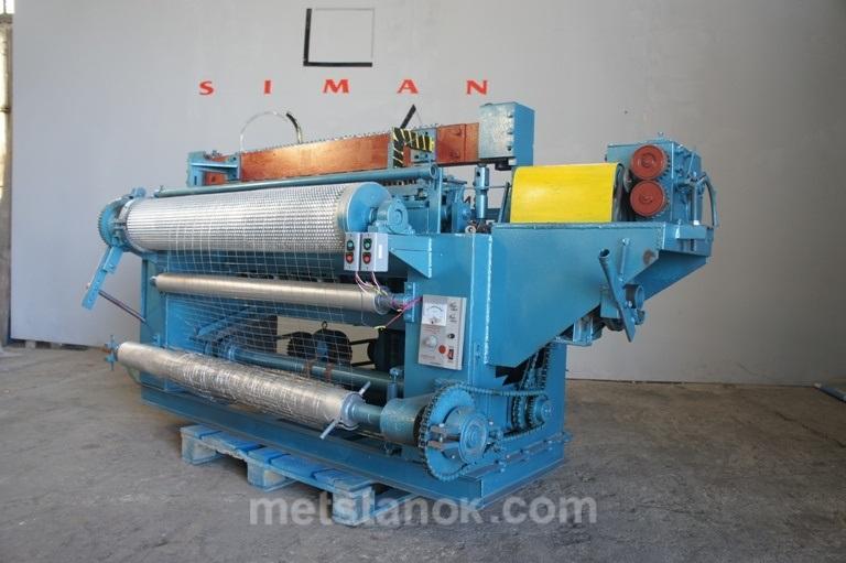 Многоконтактный станок для производства сварной сетки в рулонах СЭМ