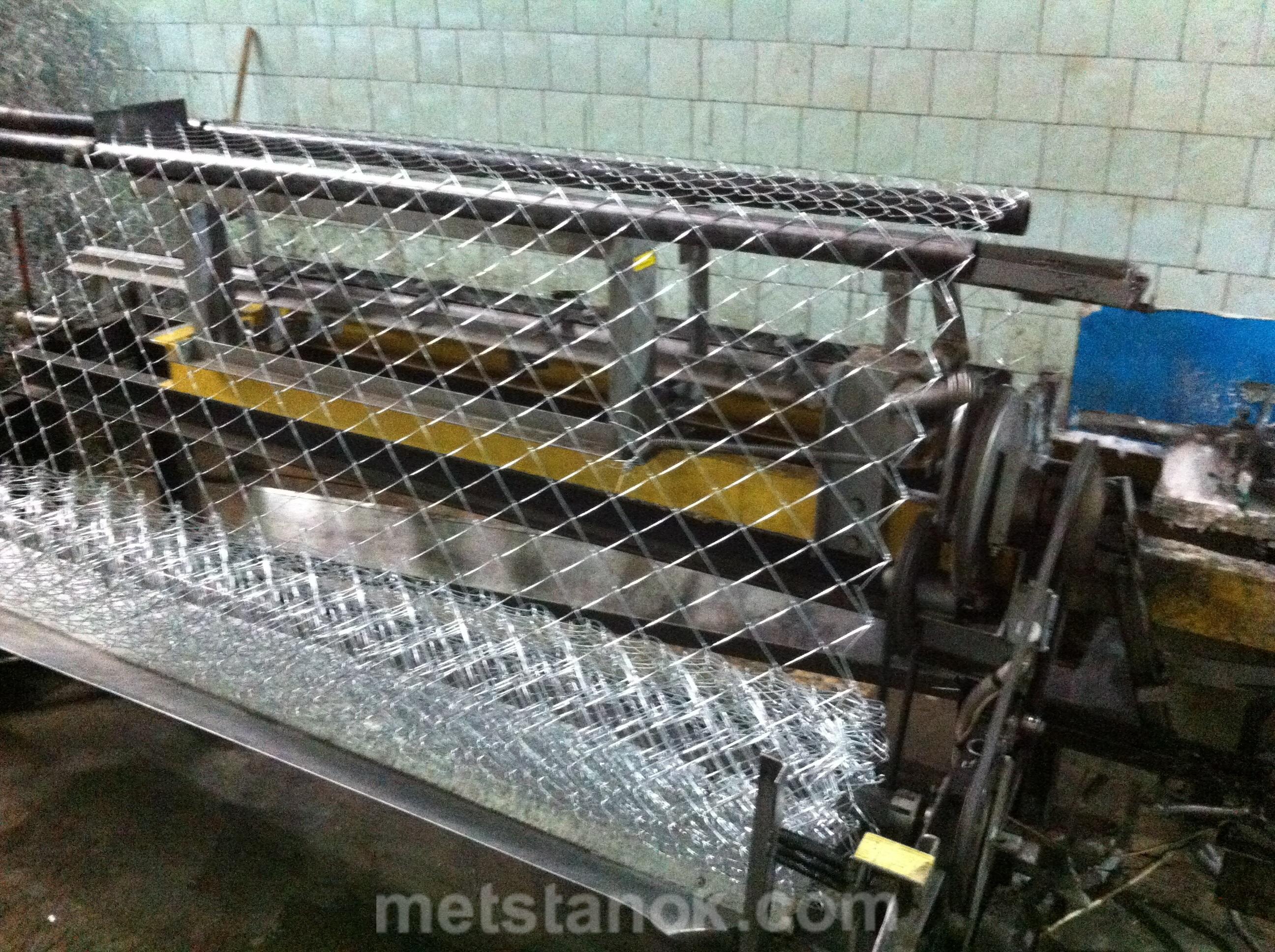 Производство рабицы, рабичный автомат