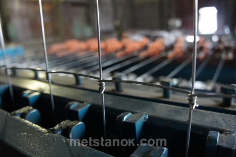 Станок для производства шарнирной сетки ШАР